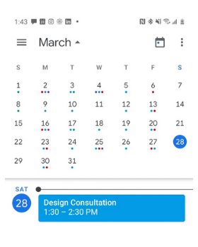 virtual in-home consultation